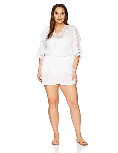 V Neck Romper Cover up