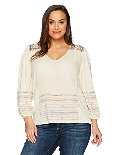 Market Embroidered Peasant Top