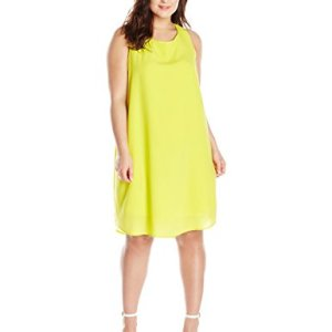 Selena Hammered Crepe Shift Dress