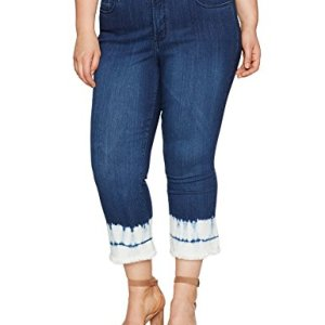Ankle Bootcut Jeans Stretch Denim