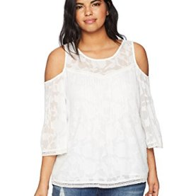 Plus Cold Shoulder Top