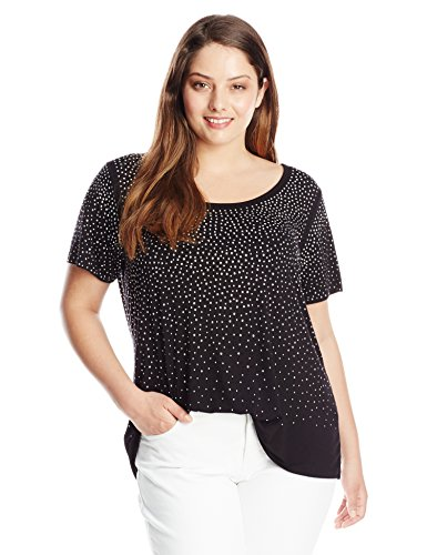 Women's Plus-Size Scatter Tee