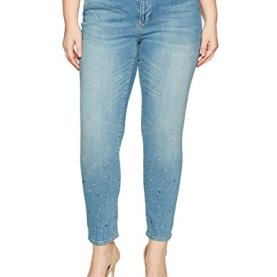 Five Slim Glitter Ankle Jean