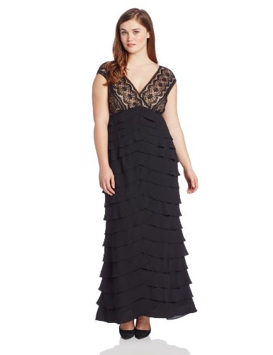 Lace Shutter Gown