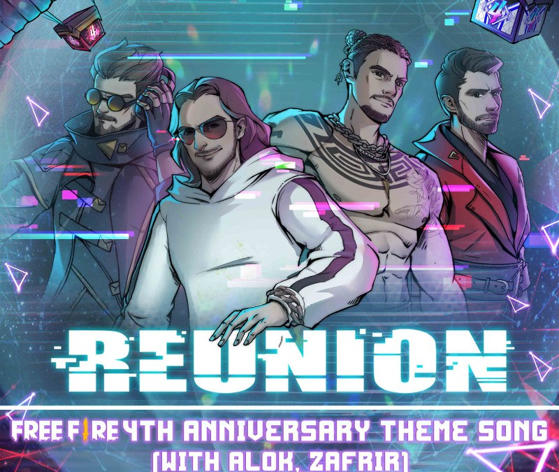 GARENA FREE FIRE'S 4TH YEAR ANNIVERSARY CELEBRATIONS ARE LED BY DIMITRI VEGAS & LIKE MIKE, KSHMR, ZAFRIR AND ALOK