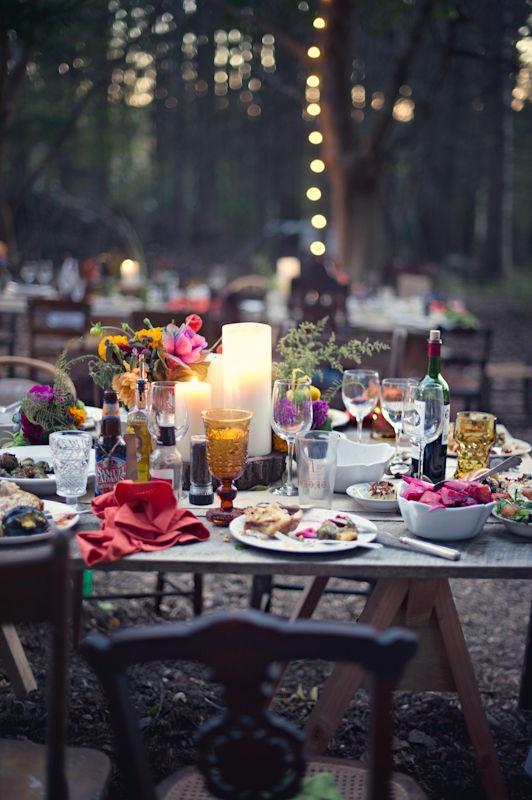 Uit Onze Blog Bohemian Wedding In The Woods