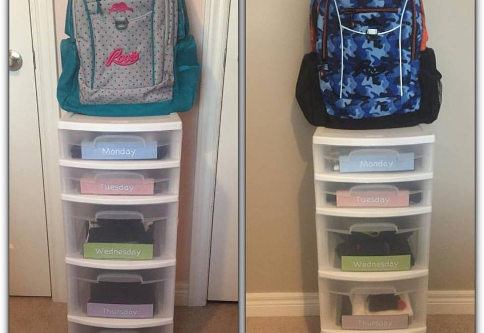 Organize Your Kids Wardrobe – DIY Project