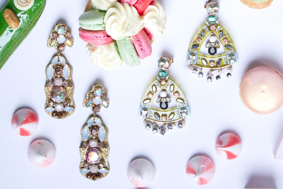 Statement earrings – the showstoppers!
