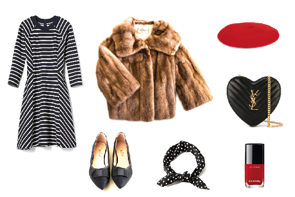 Three ways to style a vintage jacket
