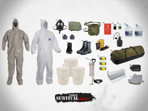 The Best Survival Kit For A NBC (Nuclear, Biological, Chemical) Disaster