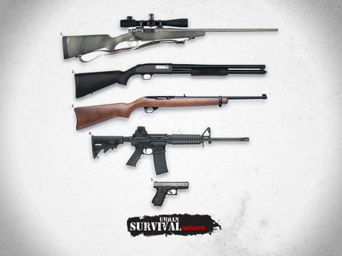 Top 5 Guns For Surviving The Collapse of Society