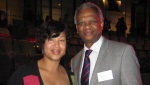 Charmaine Charles and Richard Taylor at Team London Awards