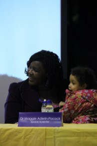 Dr Maggie Aderin-Pocock at Urban Synergy Role Model Seminar, St Matthew Academy