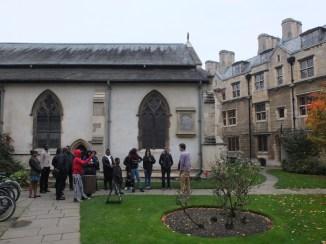 Cambridge University Visit 07