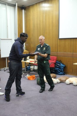 First Aid Training 2015 07
