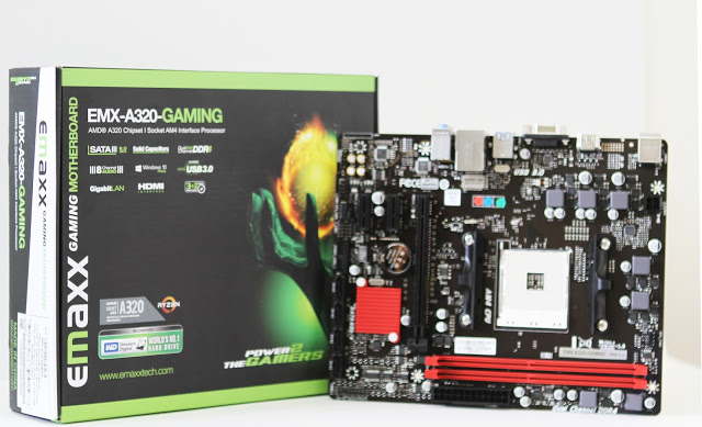 Feature: Emaxx First AM4 Motherboard, the EMX-A320-GAMING