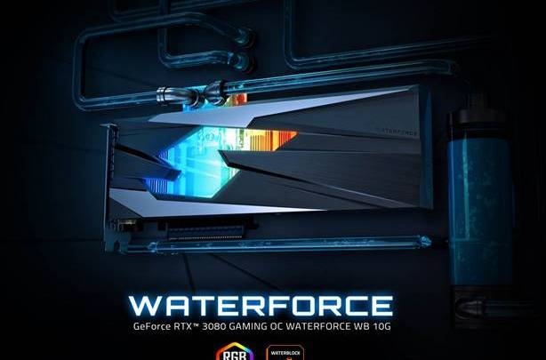 Gigabyte GeForce RTX 3080 Gaming OC Waterforce WB 10G Unleashed