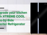 Xtreme Cool Side-by-side Inverter Refrigerator