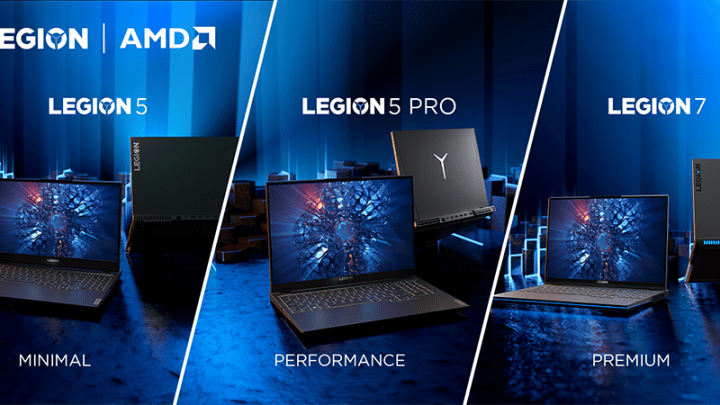 Legion Unleashes New Gaming Laptops With Ryzen 5000 H-Series
