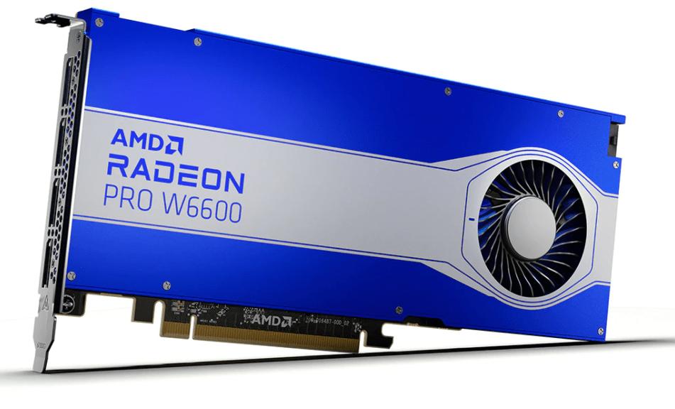 Radeon Pro W6600 Graphics Card Price Revealed