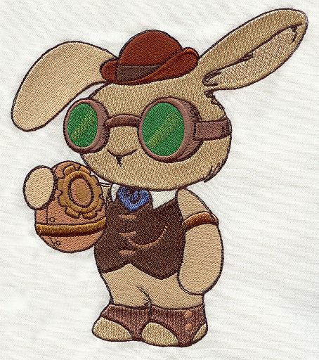 Steampunk Easter Bunny by Urban Threads