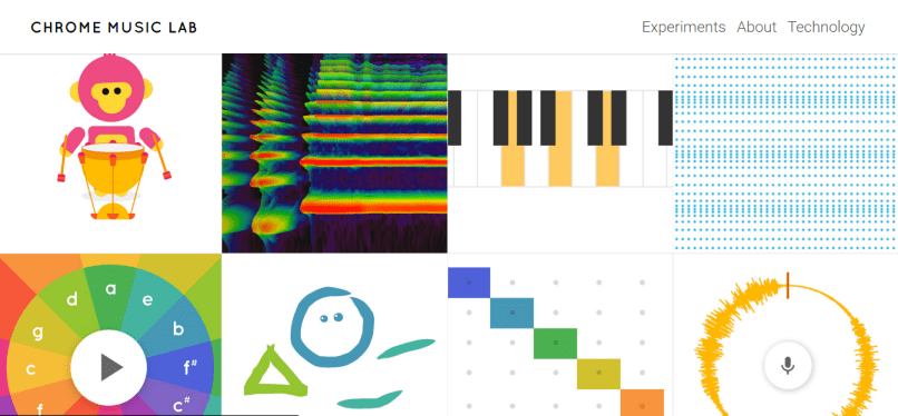 chrome music lab URBe