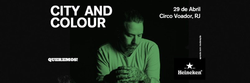 City And Colour Circo Voador URBe 2