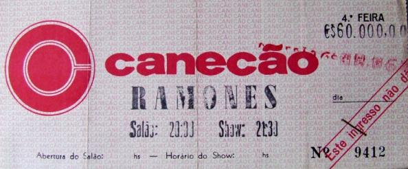 Ramones Canecão 1992 URBe