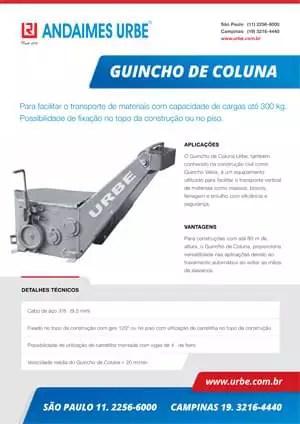 Guincho de Coluna Urbe