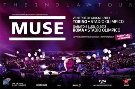 Concerto Muse Roma, luglio 2013