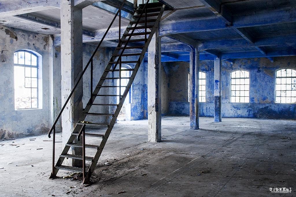 blauwselfabriek jacob avis abandoned