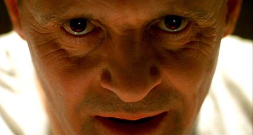 La mirada de Hannibal Lecter