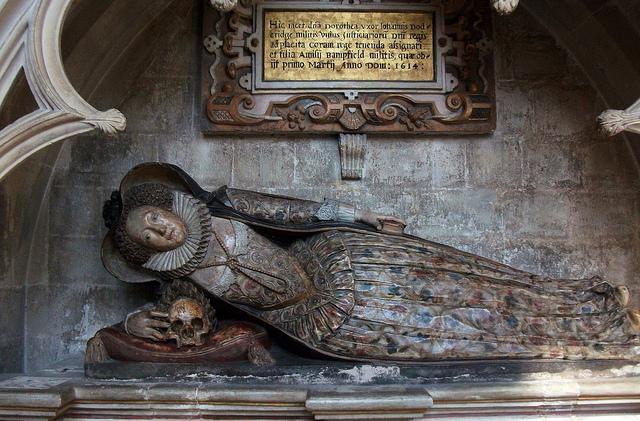 Sepulcro catedral de Exeter