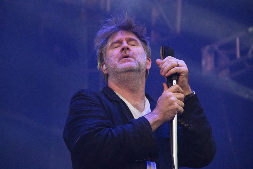 Image of James Murphy at Pitchfork