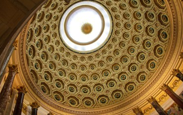 Order of Elks domed rotunda ceiling in Chicago