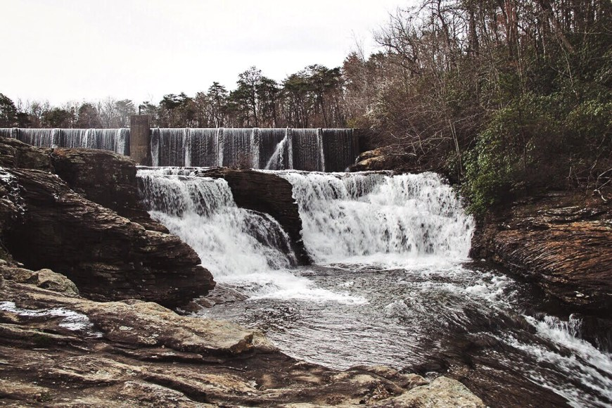 DeSoto Falls in Mentone, Alabama