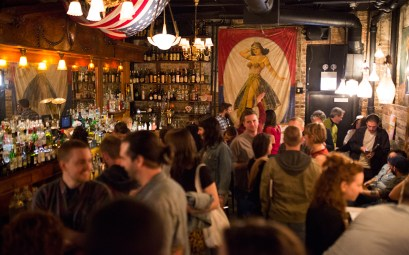 Secret Chicago book launch party at the Drifter