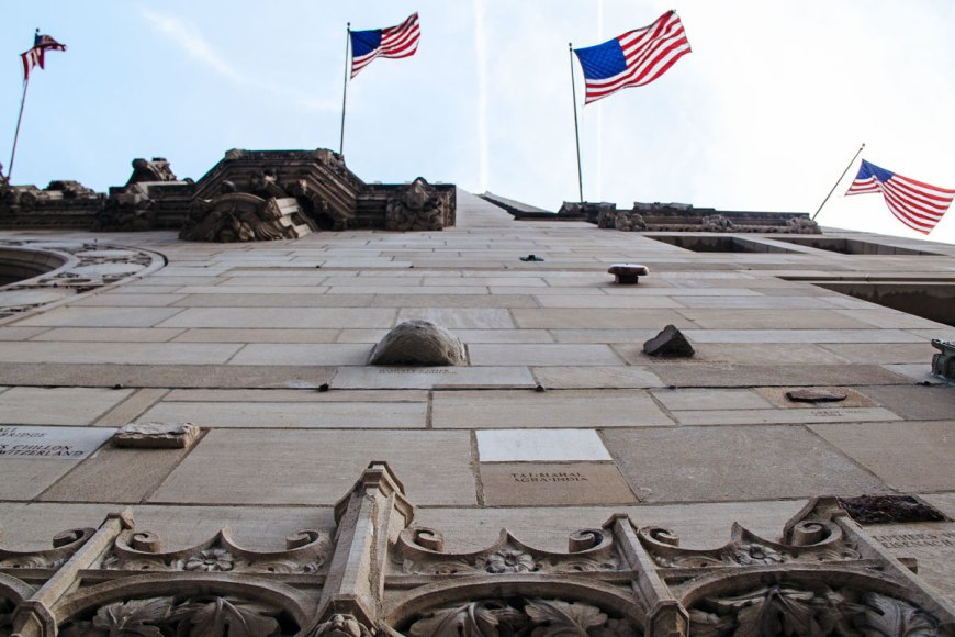 Tribune Tower facade