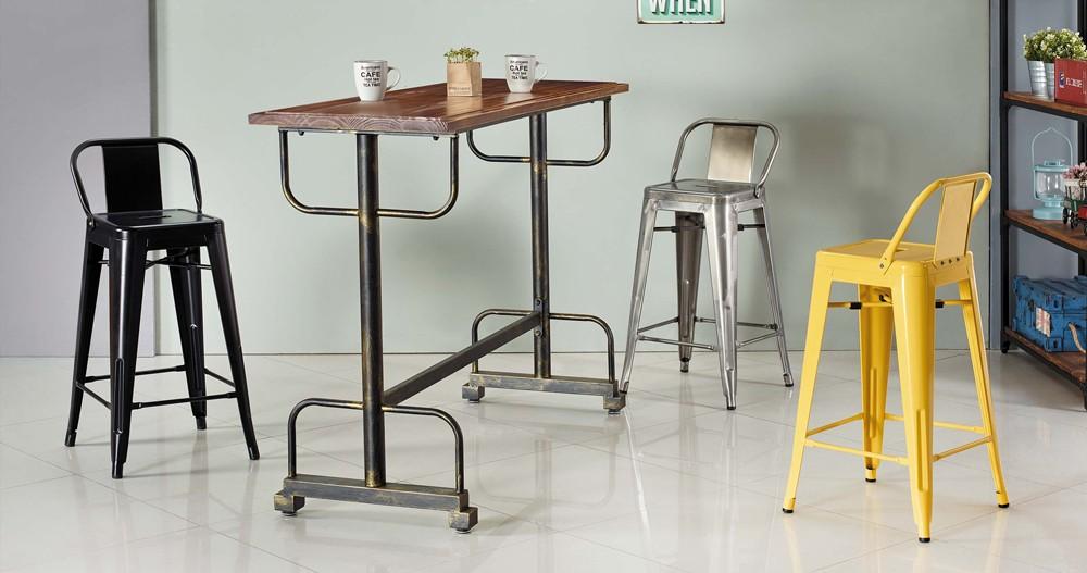 工業風吧台桌椅