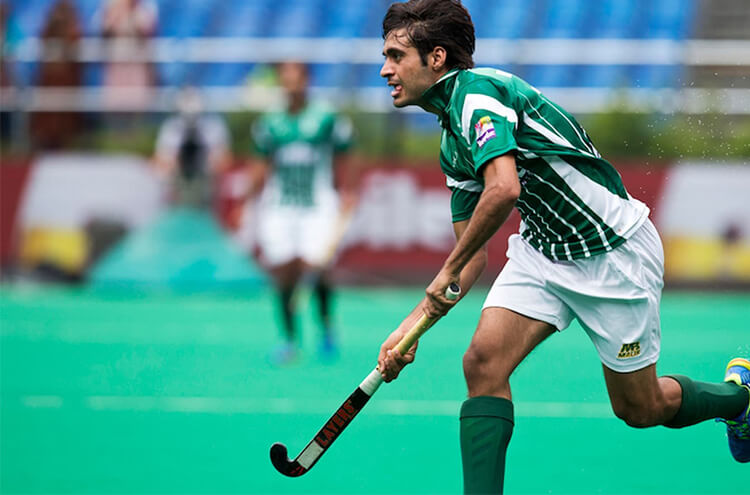 Pakistan Hockey Player