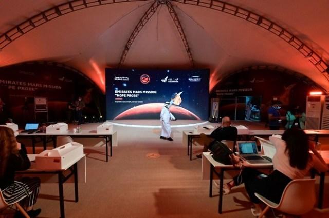 اماراتی خلائی مشن 'ہوپ' مریخ کے مدار میں کب پہنچے گا؟ 1