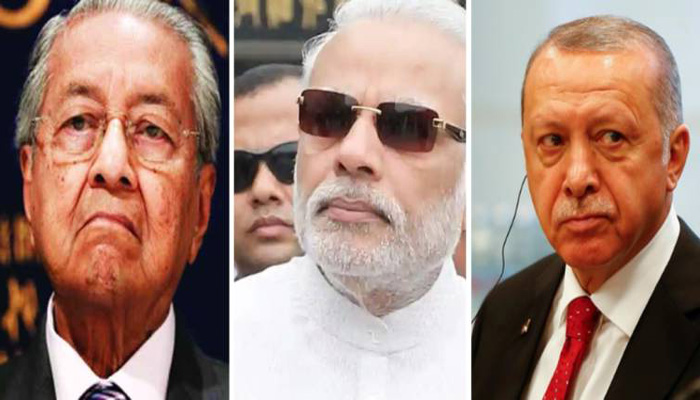 India plans cuts to imports from Malaysia, Turkey in row over occupied Kashmir
