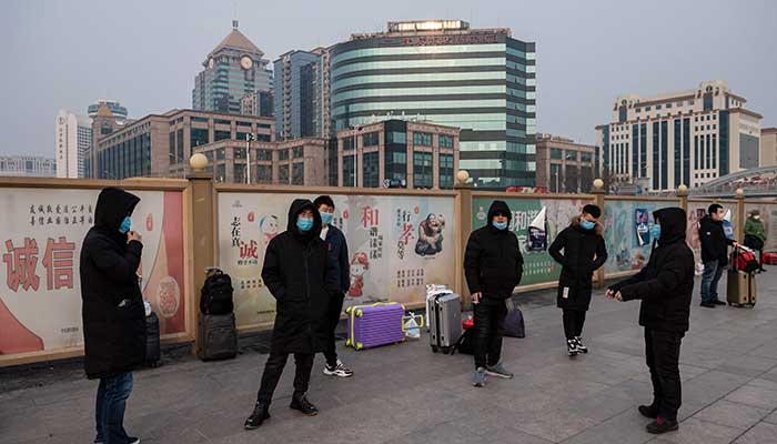 Death toll in China from coronavirus crosses 100 as markets wobble