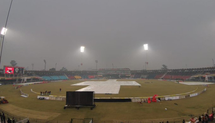 Rain forces abandonment, Pakistan take series 2-0