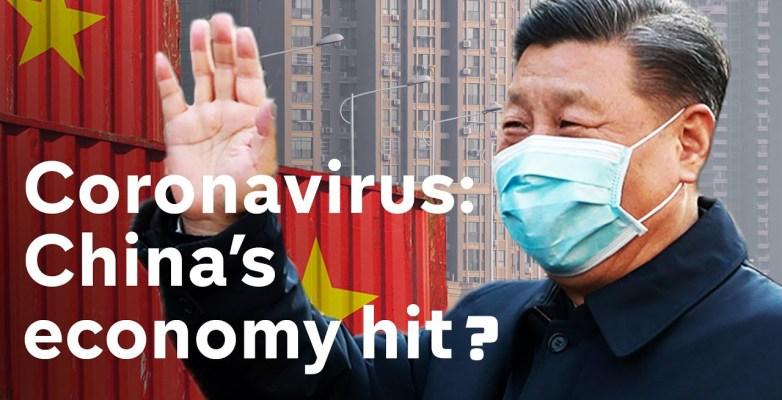Coronavirus sends China's economy in ICU