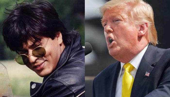 Trump follows Obama to talk Shah Rukh Khan's DDLJ on first India visit