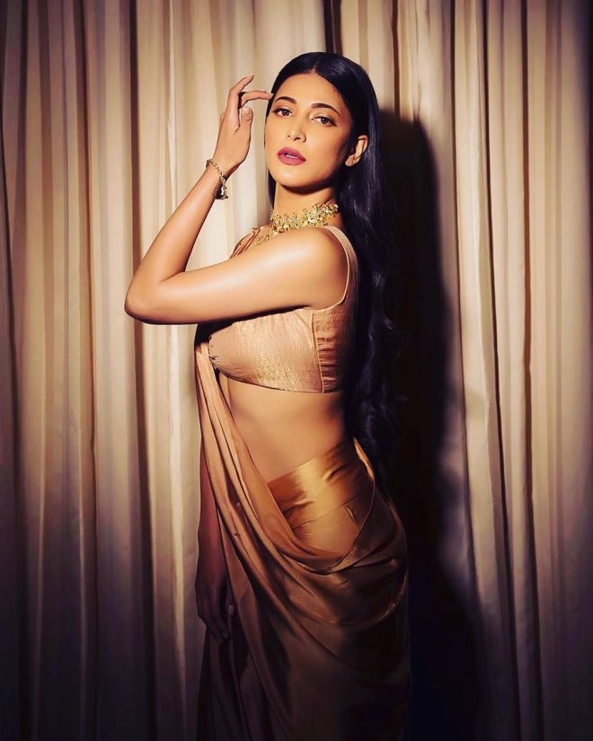 Shruti Haasan claims many people stay away due to surname and face