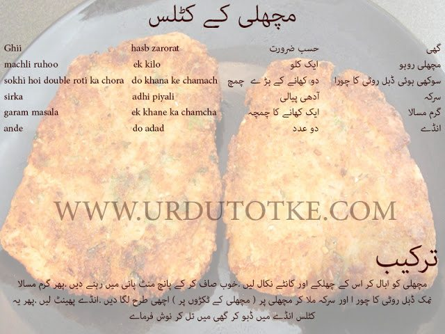 how to make fish cutlets