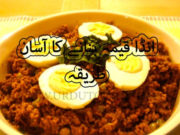 egg keema recipe in hindi