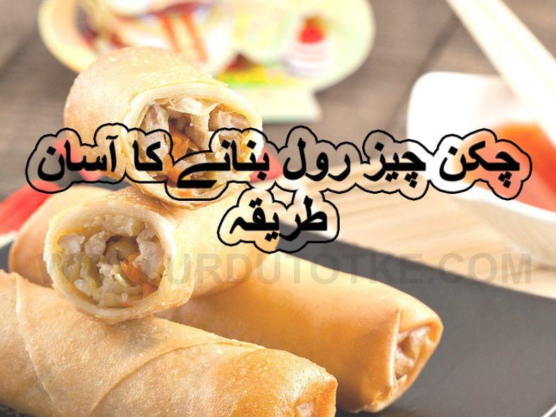 chicken cheese roll recipe in urdu